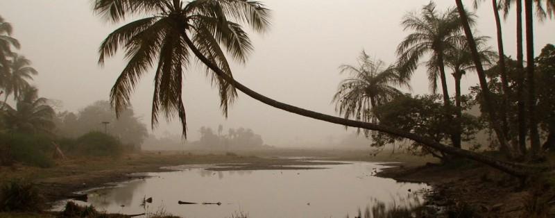 Pond in Cachouane