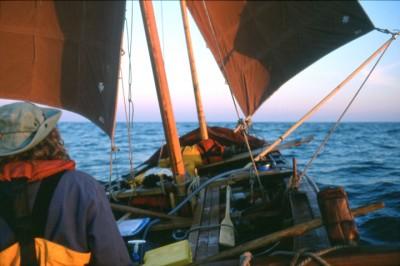 Madadh MacLaine sailing medieval Curragh