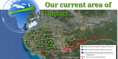 Our current area impact
